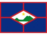 Flag, St. Eustatius 20 x 30cm
