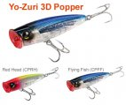Lure, 3D Popper Float 3.5″ .88oz Flying Fish
