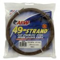 Leader Cable, 7×7 49 Strand 900Lb Test Brown 30′ Coil