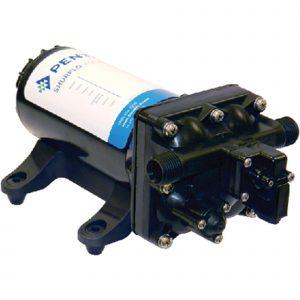 Press.Pump, 12V 5GpM Cut:55PSI Aqua KingII Supreme 3