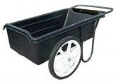 Dock Cart, Solid Wheels 300Lb