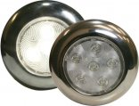 Light, LED Puck 4″ Stainless Steel Bezel