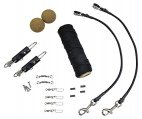 Outrigging Kit, Elite with 100′ Black Nylon