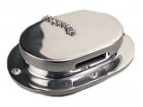 Deck Pipe, Cast Stainless Steel 5.62″x4.12″ Hinged-Cap