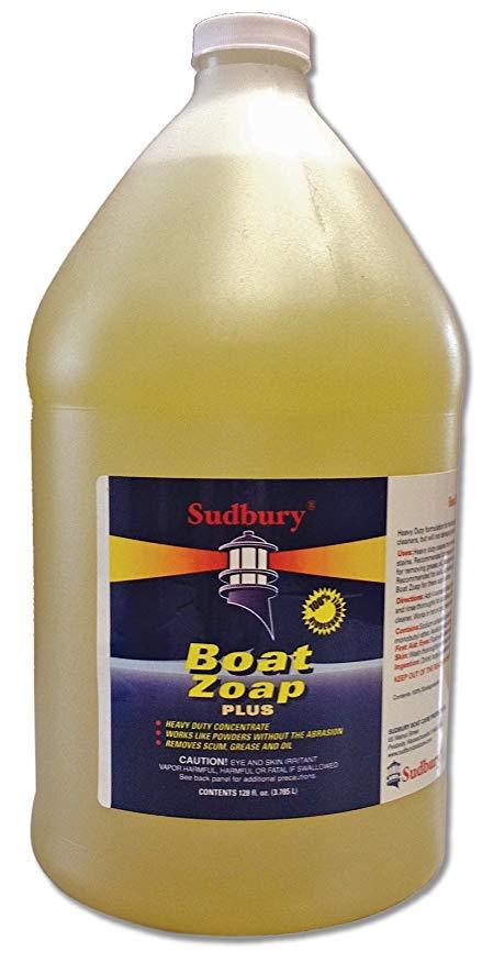 Boat Cleaner, Boat Zoap Plus 128oz 10