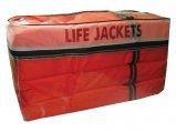 Life Vest, Yoke Adult Universal Orange Type:II US Coast Guard 4 Pack