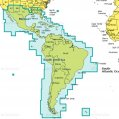 Navionics+ Caribbean & South America MSD Card