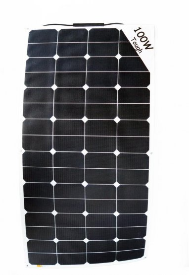Solar Panel, Flex Tough C-Box 100W L:106 Wd:54cm 3