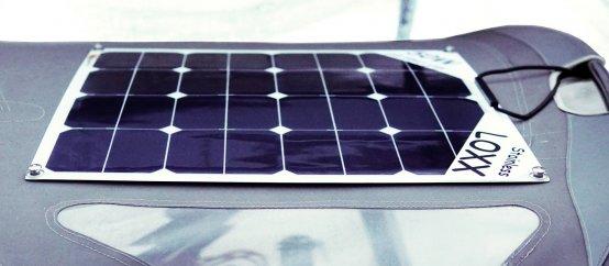 Solar Panel, Flex-Loxx 50W L:555 W:535mm 3