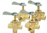 3 Way-Valve, 3/8″Fpt Fuel Brass