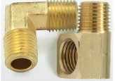 Elbow, 1/4Mpt Male Mal Brass