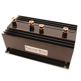 Battery-Isolator, In:2 Out:3 130A 6to36V 3