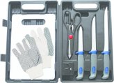 Knife, Fillet Kit 8 Piece with Carrying Case