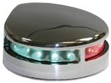 Navigation Light, Bow Bi Colour Stainless Steel 12V