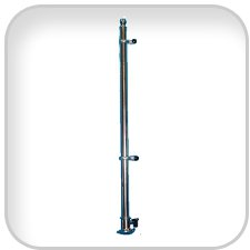 """Deluxe Flag Pole 30"""" SS 3"""