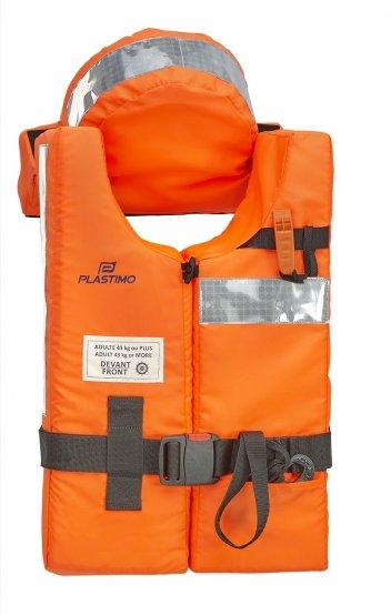 Life-Vest, Adult >43kg 150N Org SOLAS-Appv w/o LT 3