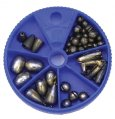 Sinkers, Assortment 62 Piece