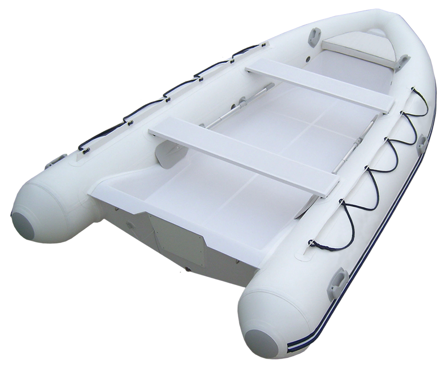 Dinghy, 4.2m 14' F'Glass Hull-Floor Grey 2