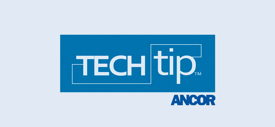 Tech Tips from Ancor 1