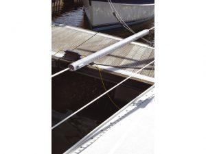 Cover f/LifeLine Sea Rail L:100cm Lt-Grey Ripstop 3
