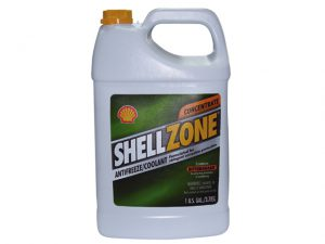Coolant, Anti-Freeze Shellzone Green Gal 3