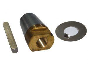 Prop-Nut, Anode&Wash&Key f/Shaft:35mm Thrd:M24x2 3