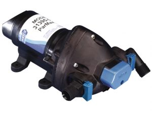 "Press.Pump, 12V 2.9GpM 25/45PSI Port1/2"" ParMax2.9 3"