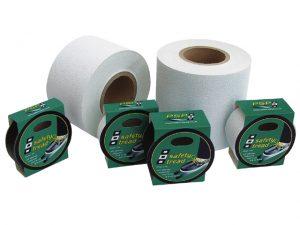 Non-Skid Tape, Safety-Tread Bk Wd:2.5cm L:5m 3