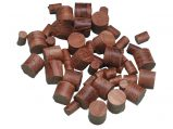 Teak Plugs, Ø:3/8″/10mm 100 Pack