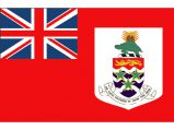 Flag, Cayman Island 30 x 45cm Red