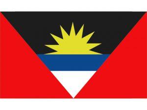 "Flag, Antigua  12 x 18"" Nylon 3"