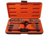 Tap & Die Set, Metric 16 Piece Skandia