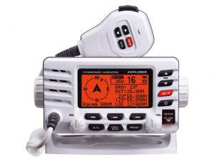 VHF, Fixed Explorer Class:D DSC Ram Mic Capable Bk 3