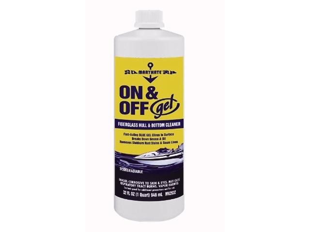 Hull & Bottom Cleaner, On & Off Gel Qt 34