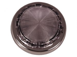 """Dome-Light, 3"""" SS Cover 4"""" Base 3"""