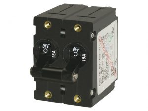 Breaker, A-Series 2-Pole 10A Bk 3