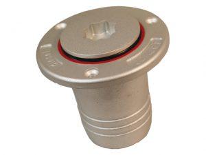Deck-Fill, Diesel Alu HoseØ:50mm Plug:Winch-Sokt 3