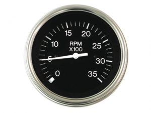 Tachometer, 3500RPM Diesel Alternator w/Ac-Tap 3