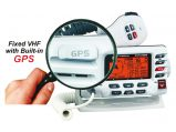 VHF, Fixed Explorer Internal GPS Class:D Digital Selective Calling White