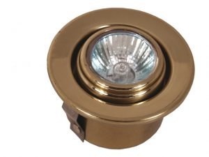 Ceiling-Light, Halogen Spot Flush-Mnt Swivel 3