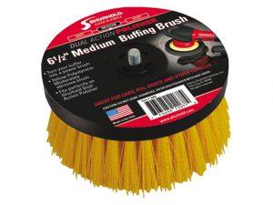 Brush, Scrub Med f/Dual Action Polisher 3