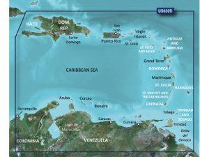 BlueChart G2, SouthEast Carib. HD SD/Micro HXU030R 3