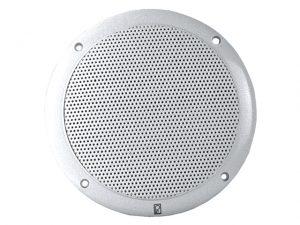 "Speaker Set, Rnd 5"" Coaxial Wh 80W /Pr 3"