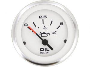 "Press.Gauge, Oil LidoPro 5Bar 10-180ohm 2"" 3"