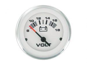 "Voltmeter, LidoPro 8-18V 2"" 3"