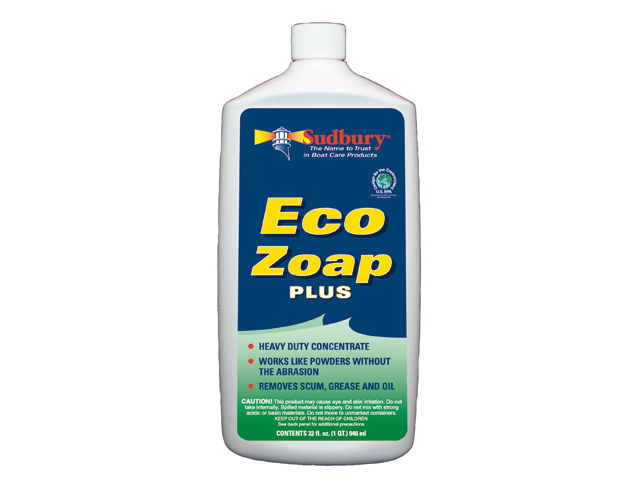 Boat Cleaner, Eco Zoap Plus 32oz 4