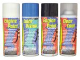 Spray Paint, Johns/Evinrude White 6961 12oz Aerosol