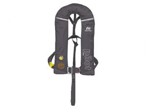 Life-Jacket, Auto-Infl 275N Bk w/Harns ISO 3