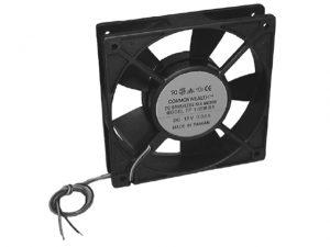 "Cooling Fan, 3.15"" Square 12VDC 3"