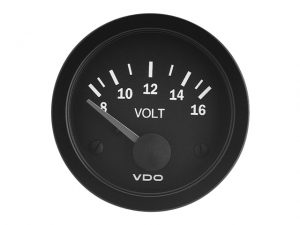 Voltmeter, 24V Cv Black Vision 3